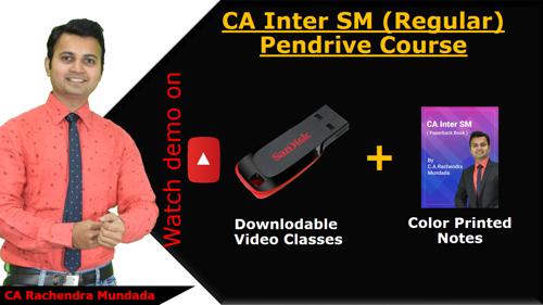 Picture of CA Inter SM (Pendrive)